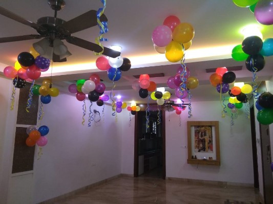 Best ideas about Birthday Party Decorations At Home . Save or Pin Birthday Decoration at Home Now.