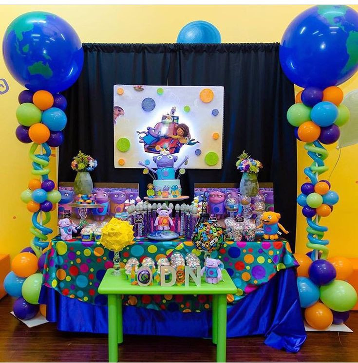 Best ideas about Birthday Party Decorations At Home . Save or Pin Boov party theme Dreamworks home Now.
