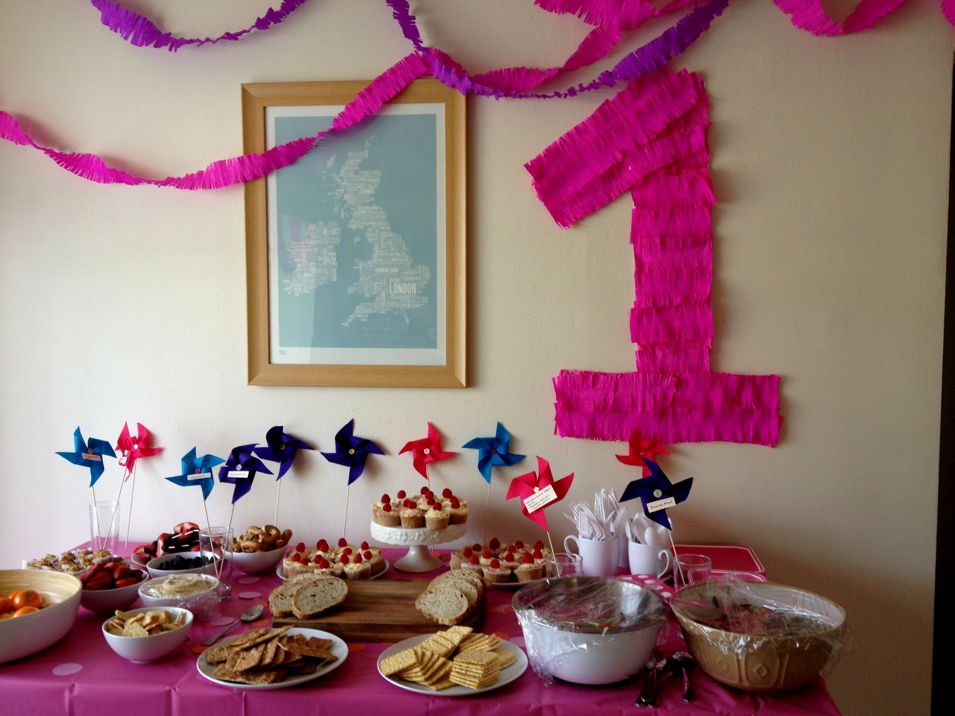 Best ideas about Birthday Party Decorations At Home . Save or Pin Fresh First Birthday Decoration Ideas at Home for Girl Now.