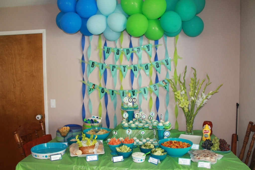 Best ideas about Birthday Party Decorations At Home . Save or Pin Simple Birthday Party Decorations Home Now.