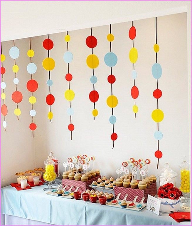 Best ideas about Birthday Party Decorations At Home . Save or Pin Baby Birthday Decoration Ideas At Home Decoration Natural Now.