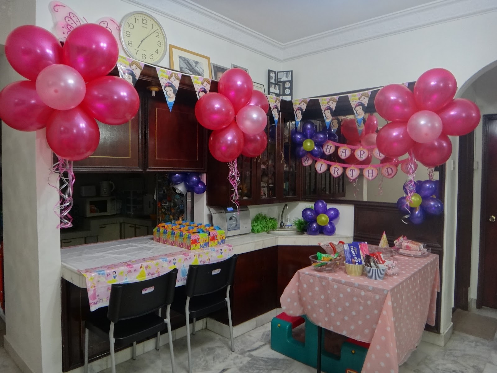 Best ideas about Birthday Party Decorations At Home . Save or Pin Birthday Decorations At Home Now.
