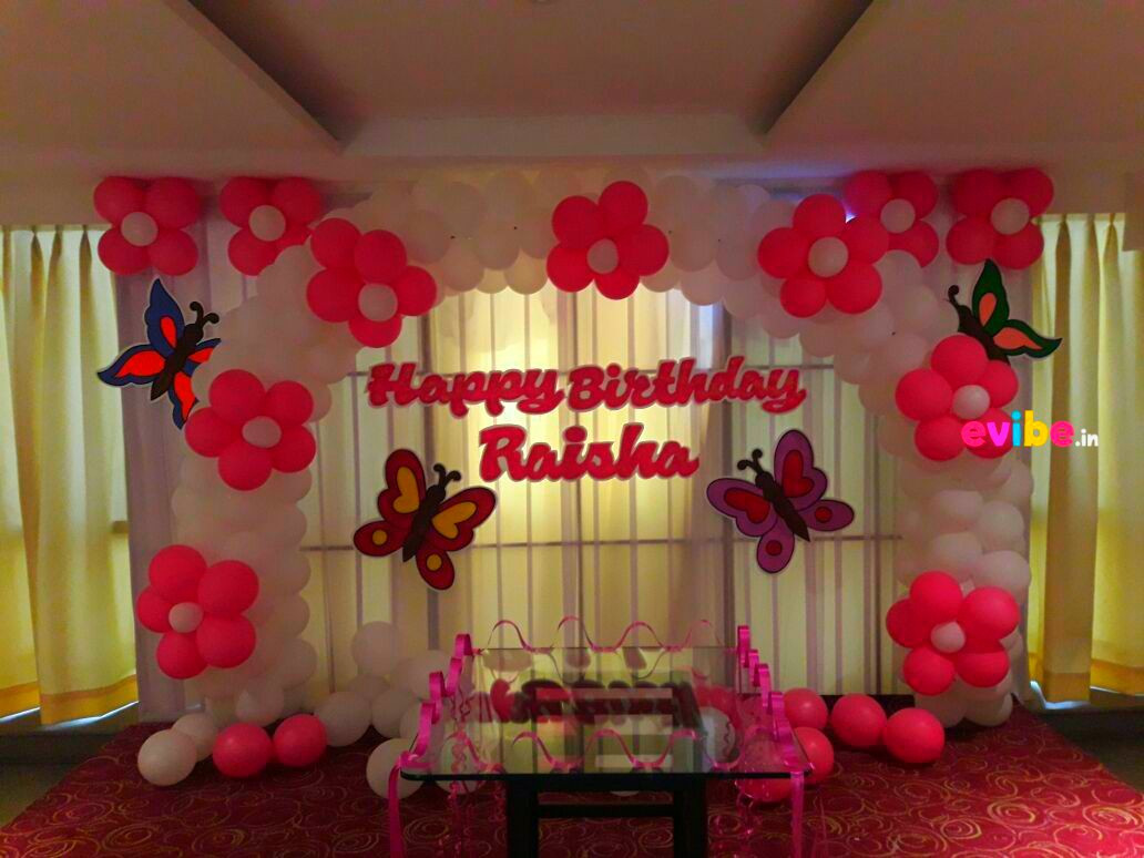 Best ideas about Birthday Party Decorations At Home . Save or Pin Top 8 Simple Balloon Decorations For Birthday Party At Now.