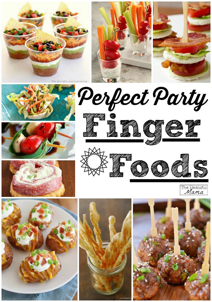 Best ideas about Birthday Party Finger Food Ideas . Save or Pin 15 Party Finger Foods The Realistic Mama Now.