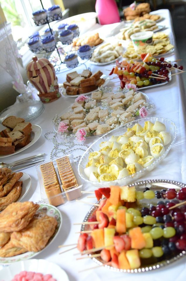 Best ideas about Birthday Party Finger Food Ideas . Save or Pin Tea party birthday finger food Jessica Workman I could Now.