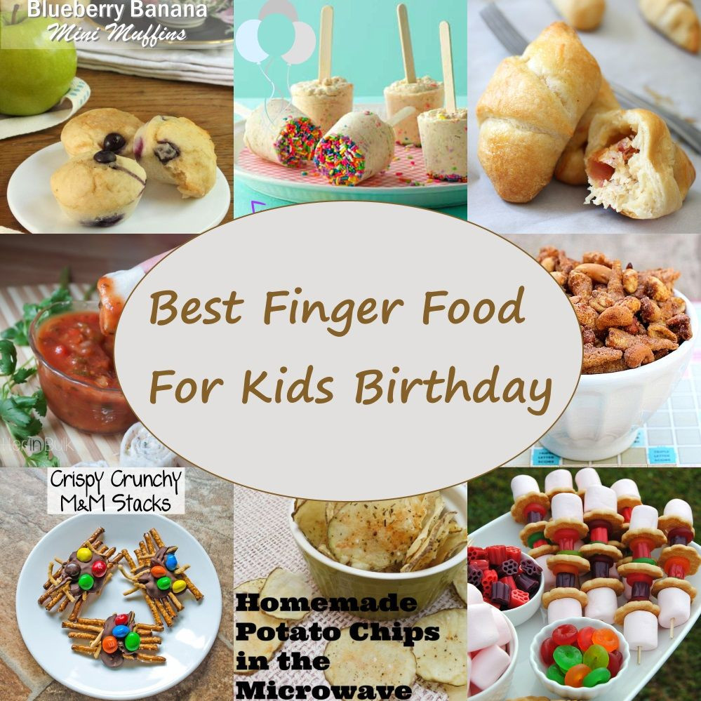Best ideas about Birthday Party Finger Food Ideas . Save or Pin Best Finger Food For Kids Birthday Now.