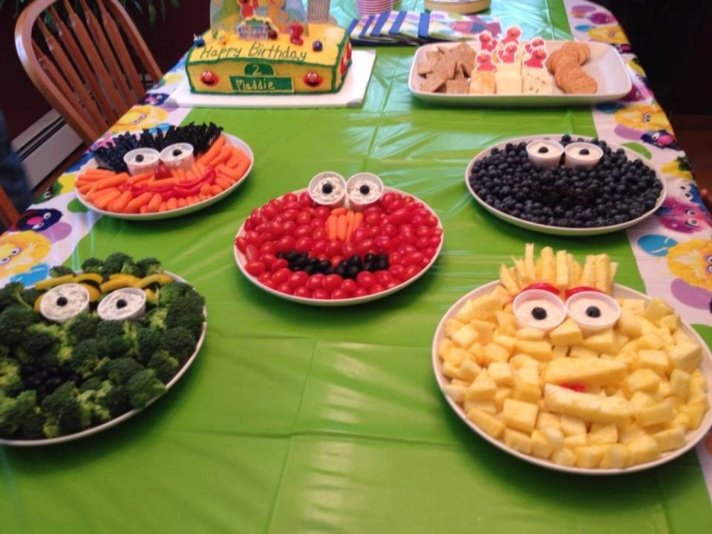 Best ideas about Birthday Party Finger Food Ideas . Save or Pin Healthy Sesame Street finger foods Kid Stuff Now.