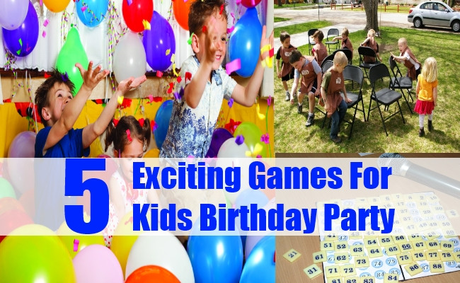 Best ideas about Birthday Party Games For Kids . Save or Pin Exciting Games For Kids Birthday Party Kids Birthday Now.