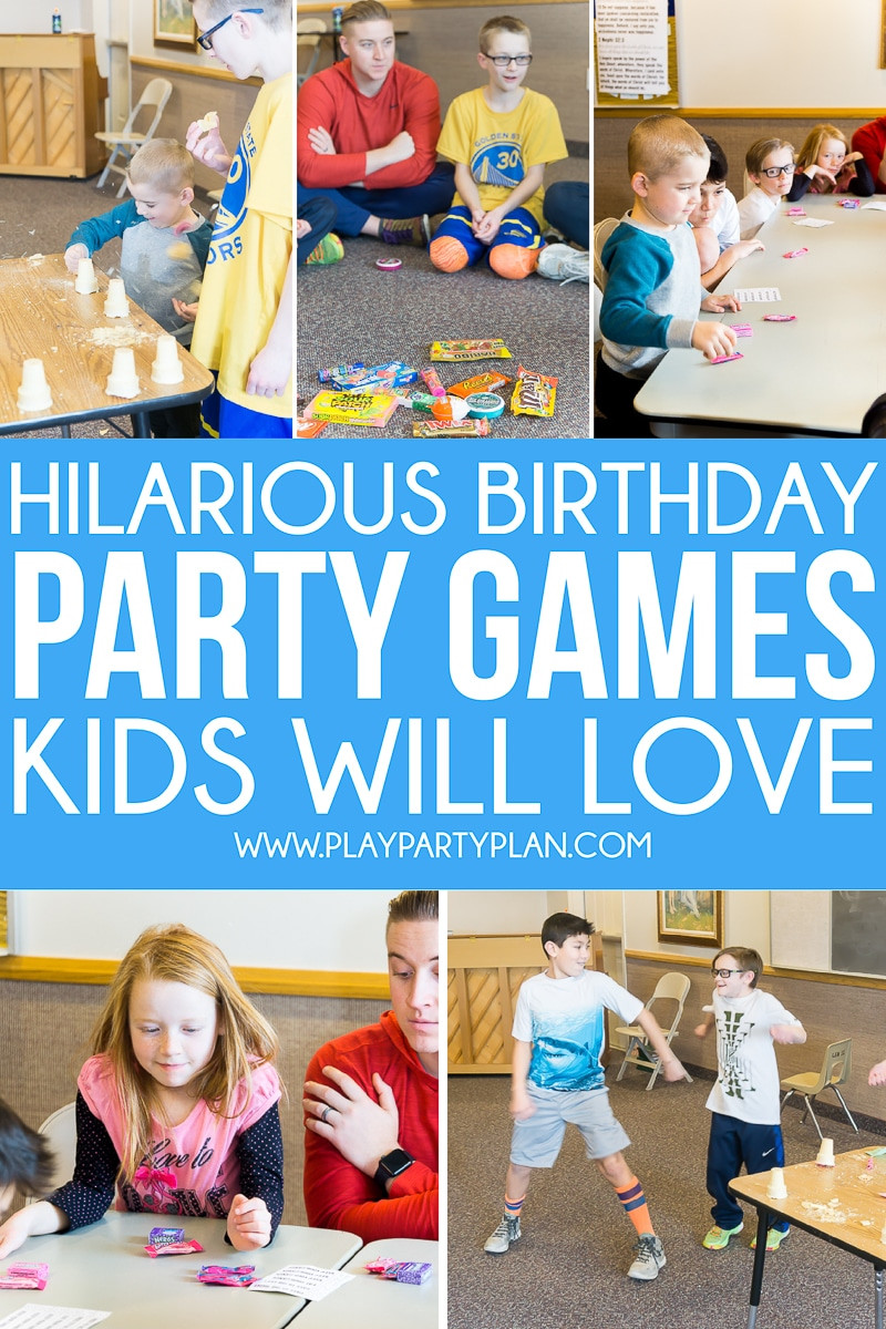 Best ideas about Birthday Party Games For Kids . Save or Pin Hilarious Birthday Party Games for Kids & Adults Play Now.