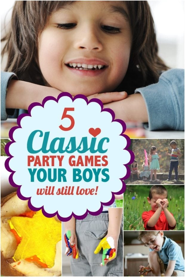Best ideas about Birthday Party Games For Kids . Save or Pin 5 Classic Party Games for Kids Your Boys Will Still Love Now.