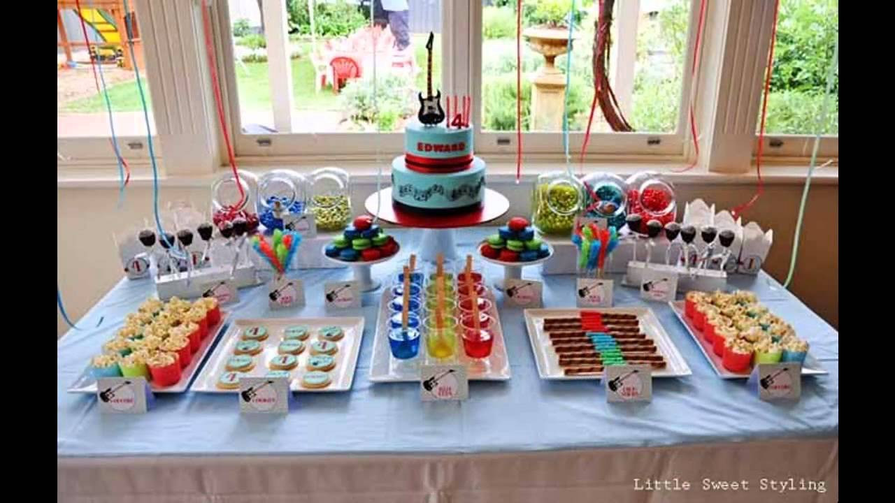 Best ideas about Birthday Party Ideas For Boys . Save or Pin Boys birthday party themes decoration ideas Now.