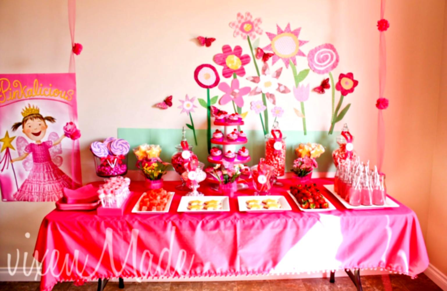 Best ideas about Birthday Party Ideas For Girls . Save or Pin 50 Sweet Girls Party Ideas Birthday Decoration For Teenage Now.