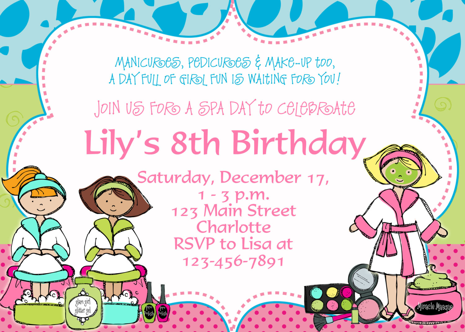 Best ideas about Birthday Party Invitation Template . Save or Pin Free Birthday Party Invitation Templates Now.