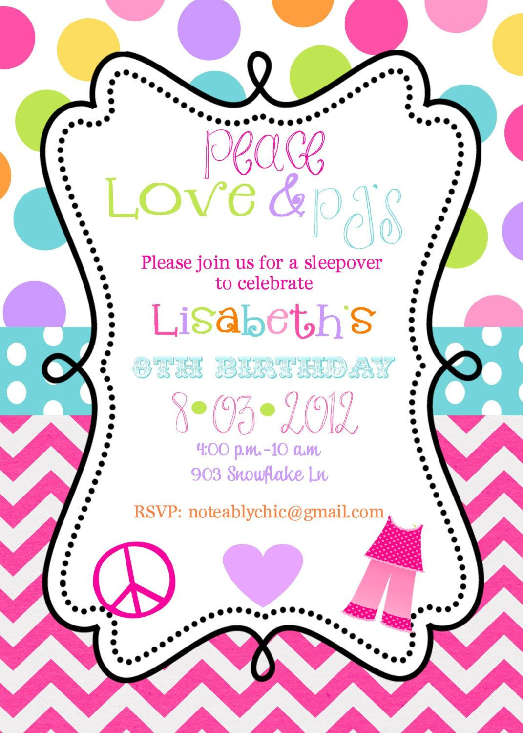 Best ideas about Birthday Party Invitation Template . Save or Pin Free Birthday Invitations Templates Now.