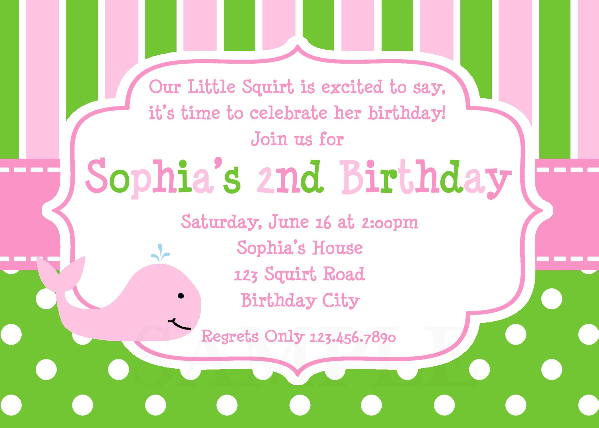 Best ideas about Birthday Party Invitation Template . Save or Pin 21 Kids Birthday Invitation Wording That We Can Make Now.