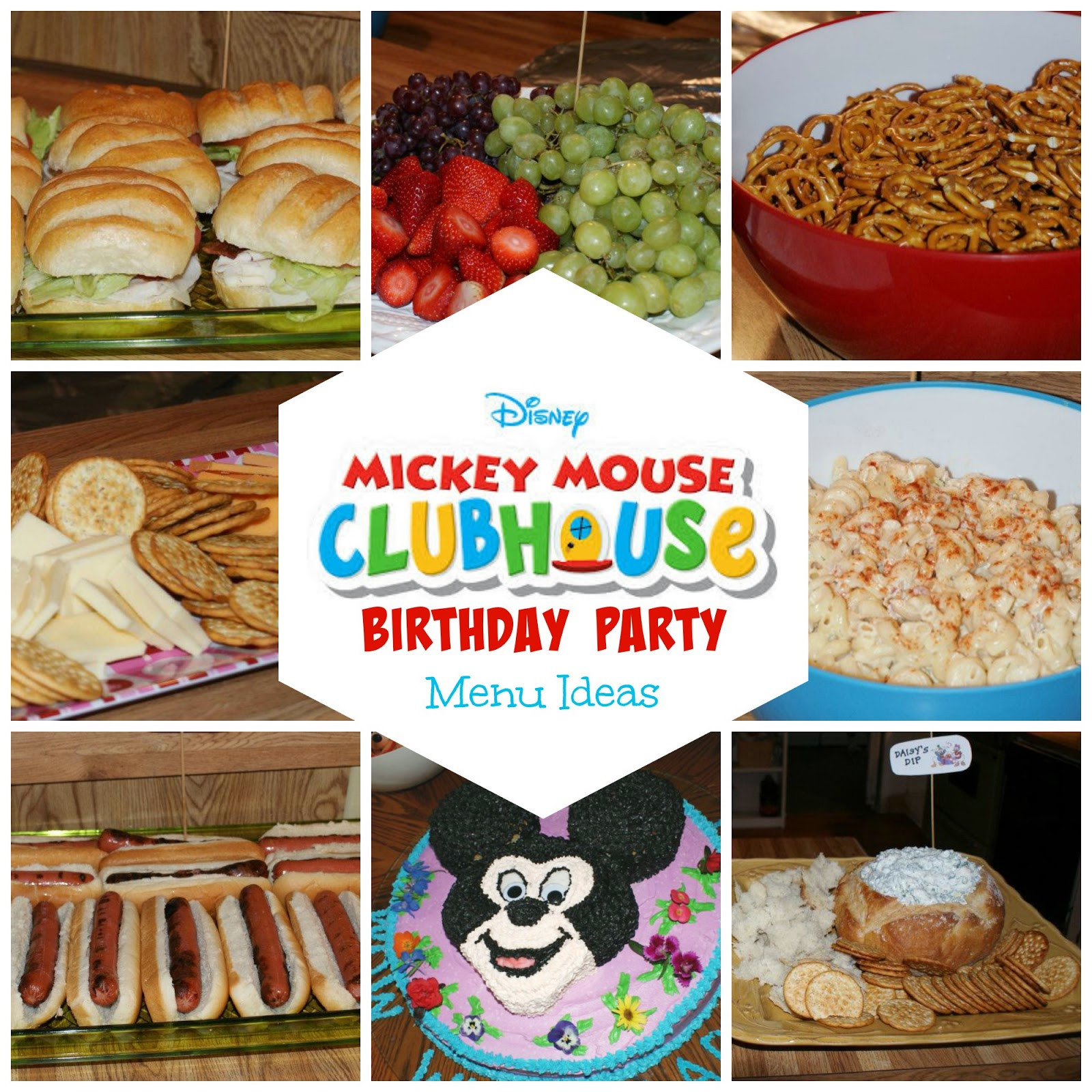 Best ideas about Birthday Party Menu . Save or Pin 8 Mickey Mouse Birthday Party Menu Ideas Now.