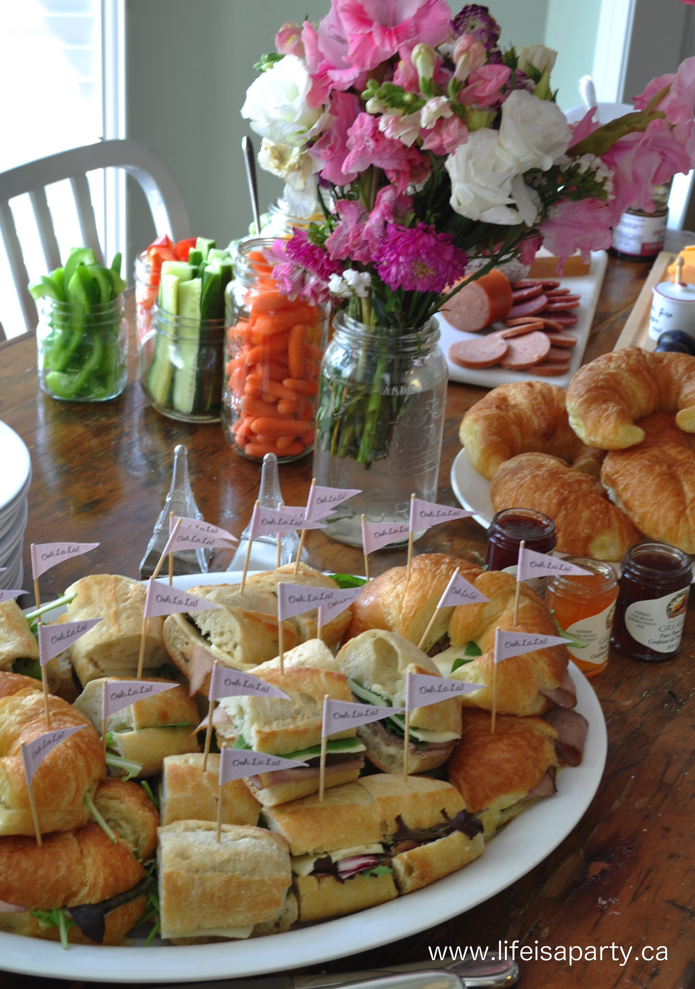 Best ideas about Birthday Party Menu . Save or Pin Paris Birthday Party Food French Menu Ideas Kid Friendly Now.
