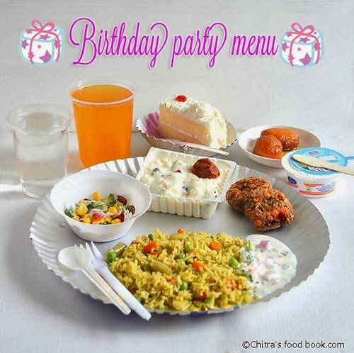 Best ideas about Birthday Party Menu . Save or Pin SIMPLE BIRTHDAY PARTY RECIPES MENU FOR KIDS Now.