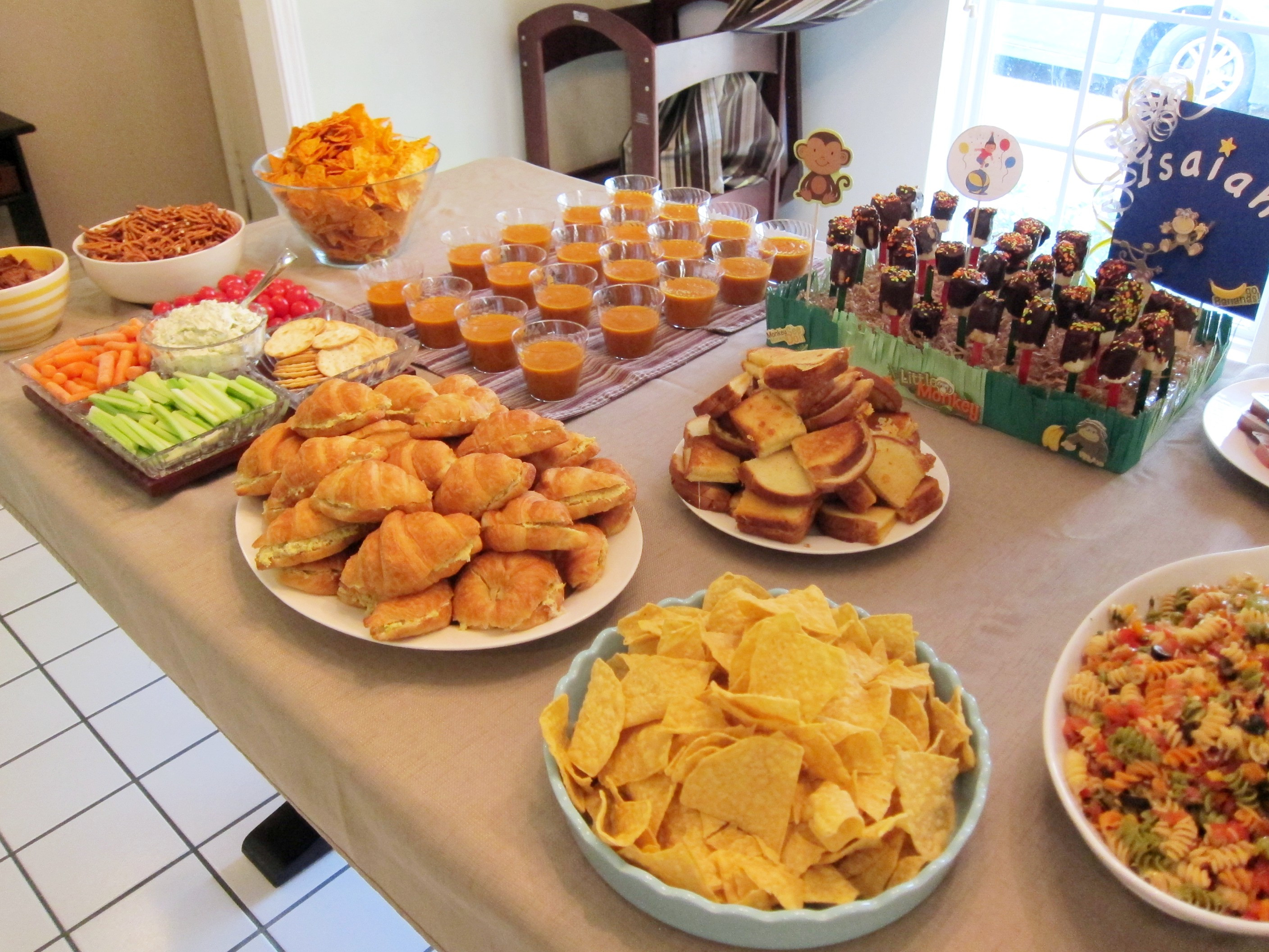 Best ideas about Birthday Party Menu . Save or Pin Appetizers Now.