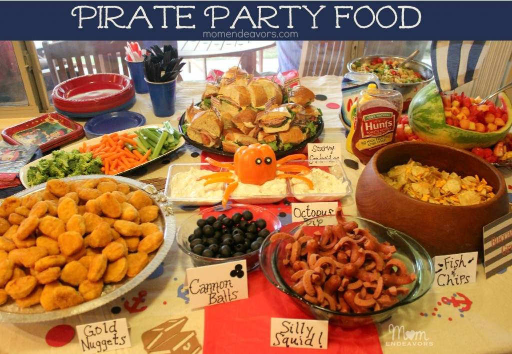 Best ideas about Birthday Party Menu . Save or Pin Jake and the Never Land Pirates Birthday Party Food Now.