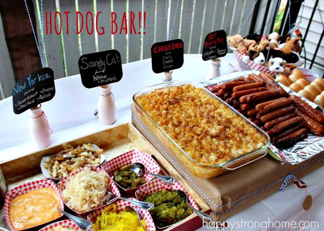 Best ideas about Birthday Party Menu . Save or Pin DIY Puppy Dog Birthday Party Happy Strong Home Now.