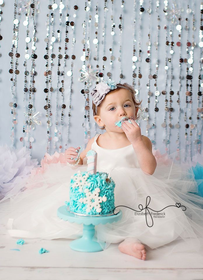 Best ideas about Birthday Party Photography . Save or Pin Winter Wonderland Themed Smash Cake Now.