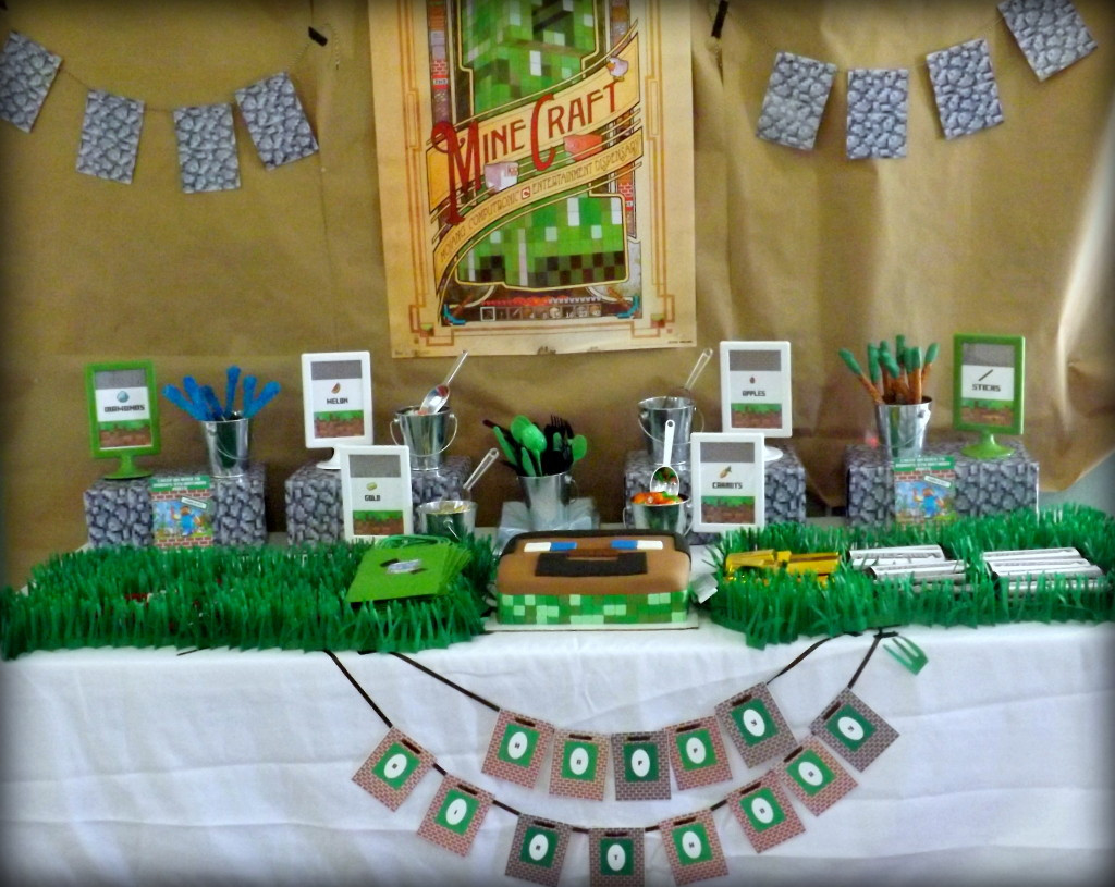 Best ideas about Birthday Party Project . Save or Pin Minecraft Inspired Birthday Party Project Nursery Now.