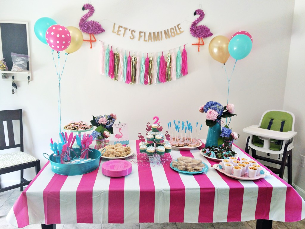 Best ideas about Birthday Party Project . Save or Pin Pink and Blue Flamingo Birthday Party Project Nursery Now.