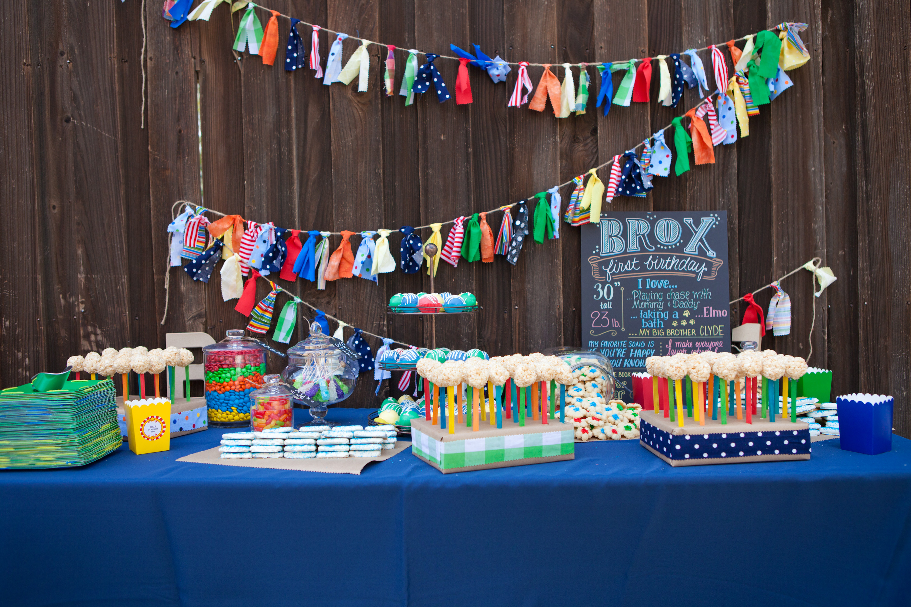 Best ideas about Birthday Party Project . Save or Pin Brox s Primary Color First Birthday Party Project Nursery Now.