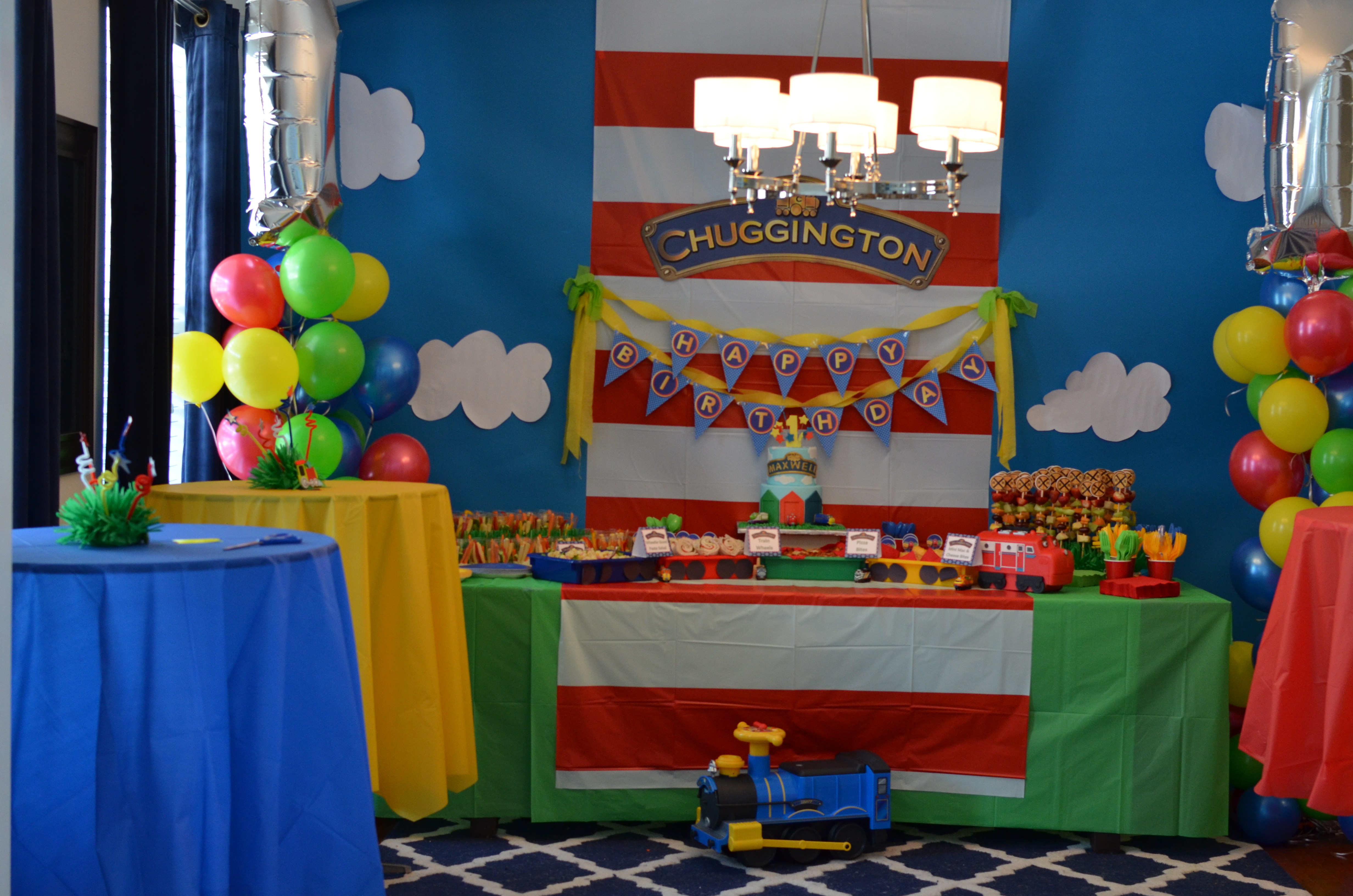 Best ideas about Birthday Party Project . Save or Pin Maxwell s Chuggington First Birthday Party Project Nursery Now.