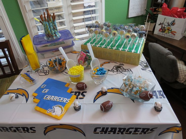 Best ideas about Birthday Party San Diego . Save or Pin San Diego Charger Party Ideas Party Ideas Now.
