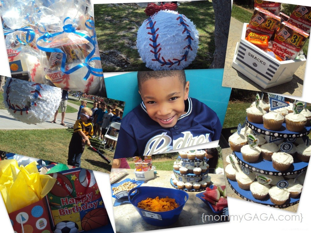 Best ideas about Birthday Party San Diego . Save or Pin Word ful Wednesday San Diego Padres Baseball Birthday Now.