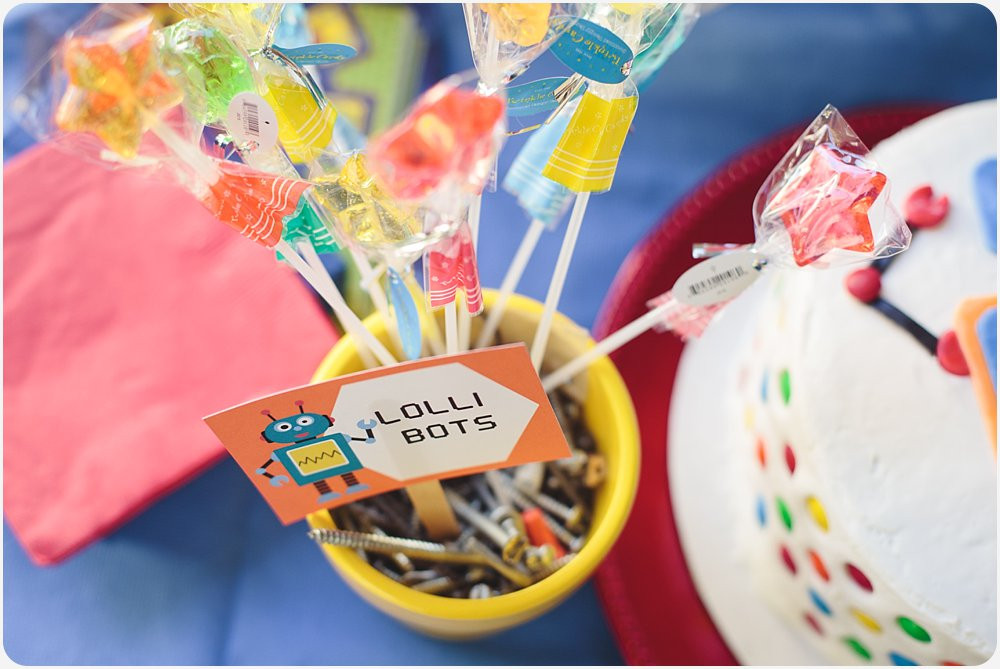 Best ideas about Birthday Party San Diego . Save or Pin Steven s Robot Birthday Party Now.