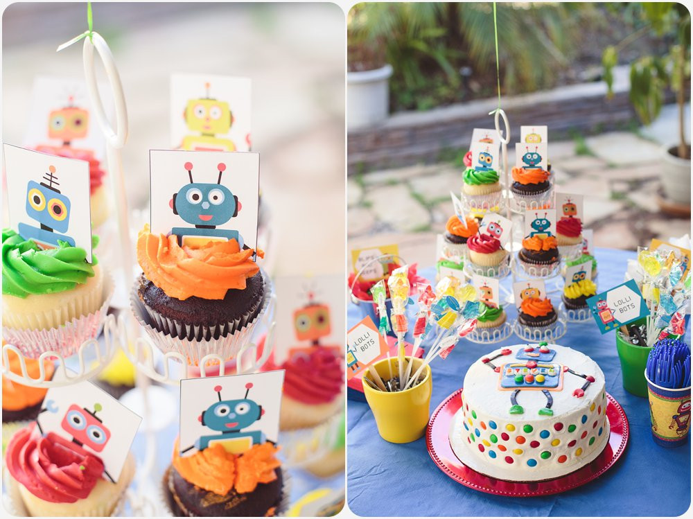 Best ideas about Birthday Party San Diego . Save or Pin Steven's Robot Birthday Party Now.