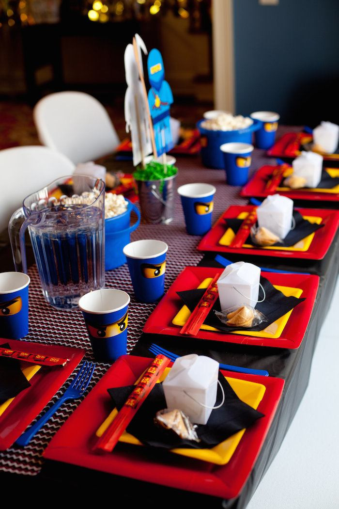 Best ideas about Birthday Party Supplies Online . Save or Pin Kara s Party Ideas Ninjago Themed Birthday Party Planning Now.