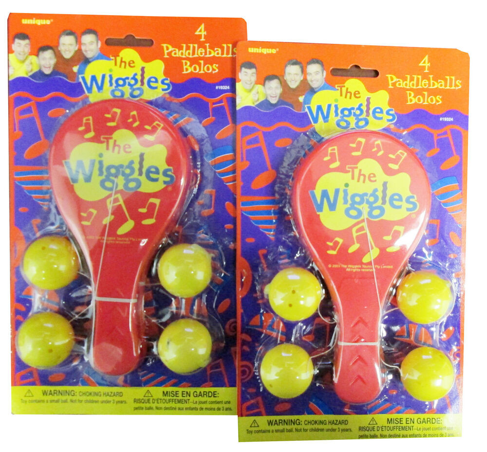 Best ideas about Birthday Party Supplies Online . Save or Pin WIGGLES PADDLEBALLS 8ct Rare Birthday PARTY Supplies Now.