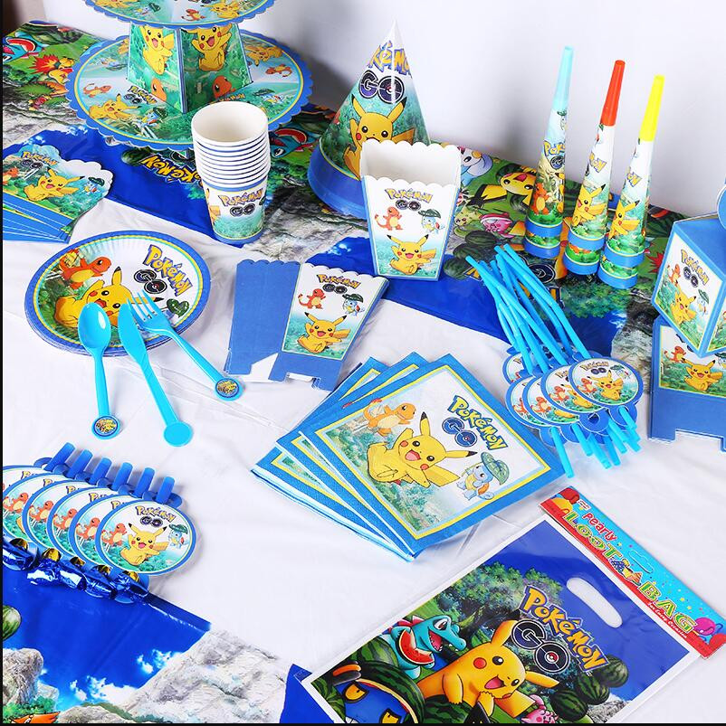 Best ideas about Birthday Party Supplies Online . Save or Pin Pokemon Go Theme Birthday Party Decorations Kids Pokemon Now.