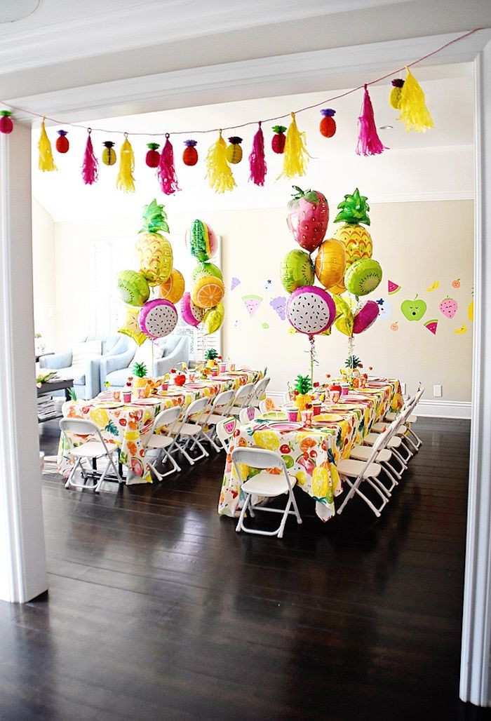 Best ideas about Birthday Party Supplies Online . Save or Pin Colorful Tutti Frutti Birthday Party Now.