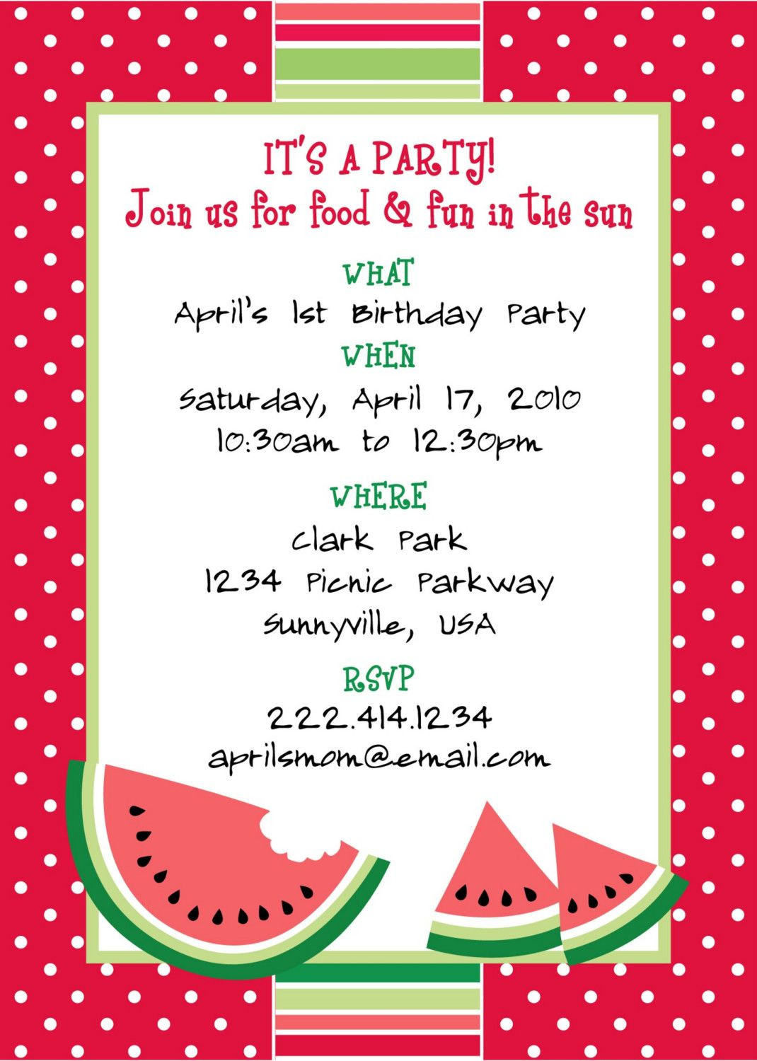 Best ideas about Birthday Party Templates . Save or Pin Picnic Invitations Pdf Invitation Templates Now.