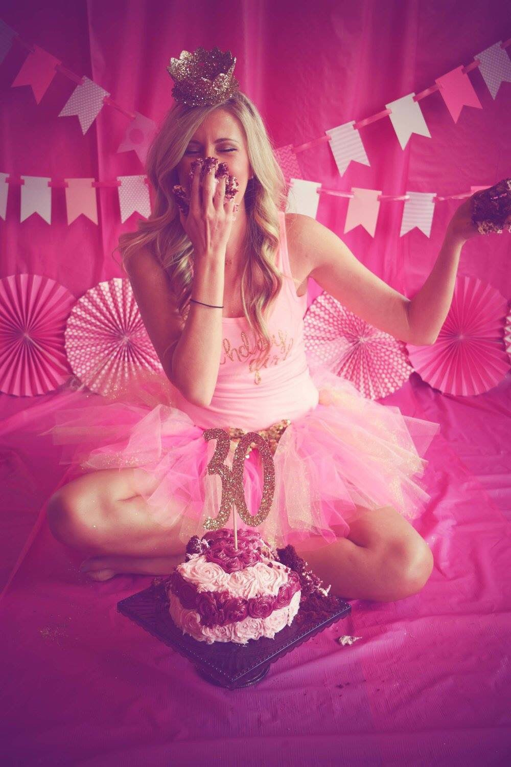 Best ideas about Birthday Photoshoot Ideas For Adults . Save or Pin Smash Cake 30 Smash cake 30th Pinterest Now.