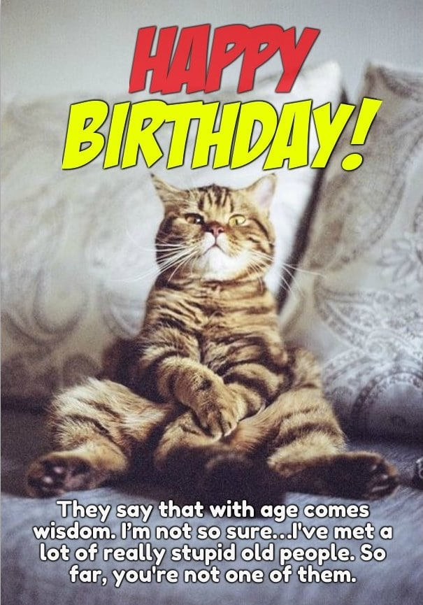 Best ideas about Birthday Pics Funny . Save or Pin 25 Funny Happy Birthday for Him and Her Now.
