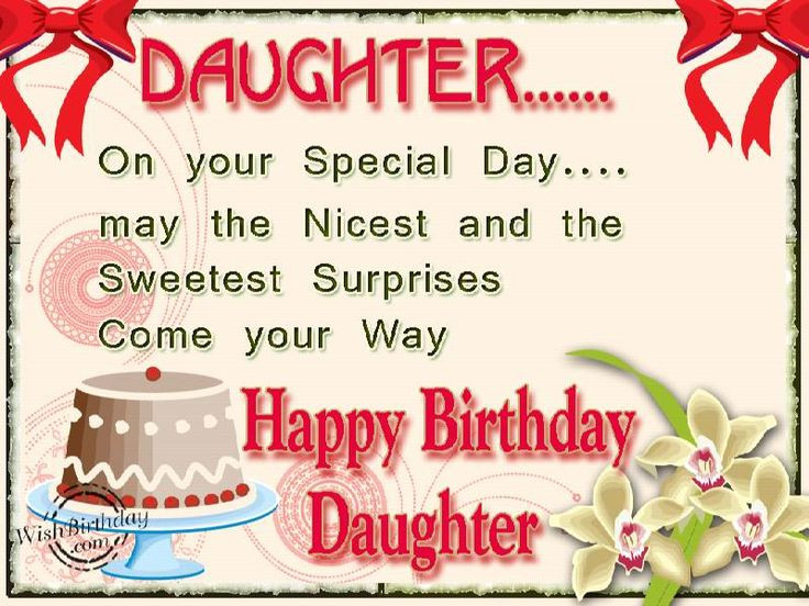 Best ideas about Birthday Quote For Daughter . Save or Pin birthday wishes Now.
