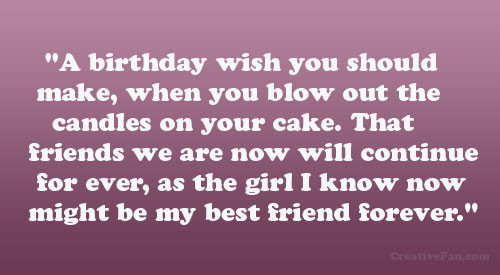 Best ideas about Birthday Quotes For Best Friend Girl . Save or Pin Best Friends Birthday Quotes For Girls QuotesGram Now.