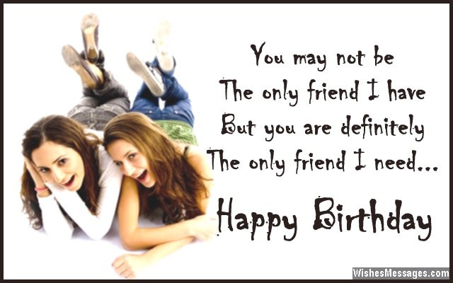 Best ideas about Birthday Quotes For Best Friend Girl . Save or Pin Birthday Wishes for Best Friend Quotes and Messages Now.