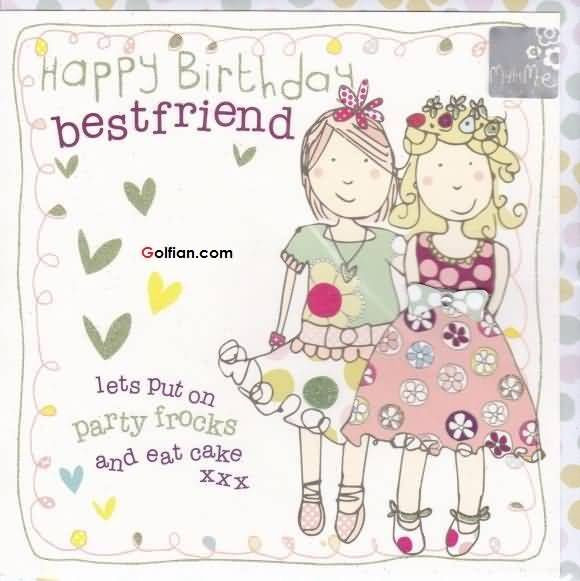Best ideas about Birthday Quotes For Best Friend Girl . Save or Pin Happy Birthday Bestfriend s and for Now.
