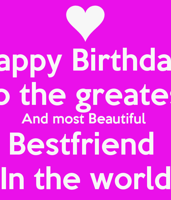Best ideas about Birthday Quotes For Best Friend Girl . Save or Pin 07 18 18 Now.