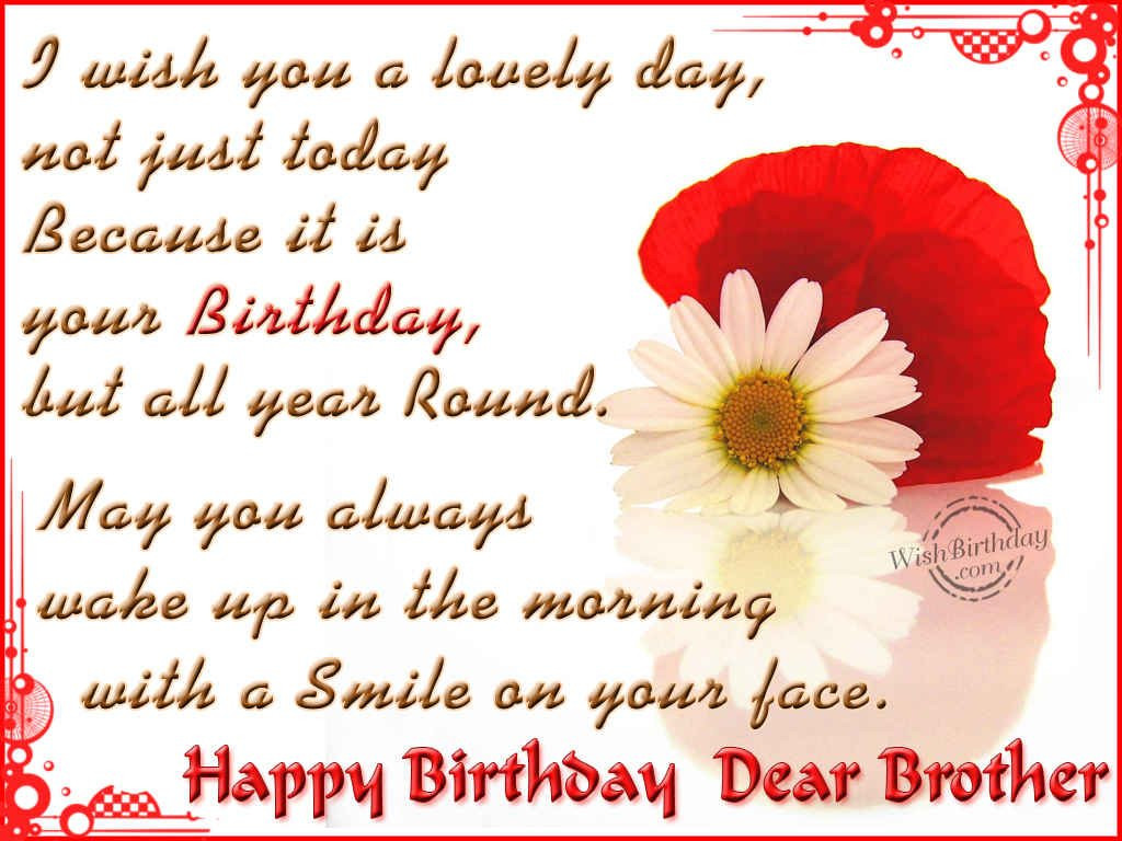 Best ideas about Birthday Quotes For Brother . Save or Pin Little Brother Birthday Quotes QuotesGram Now.