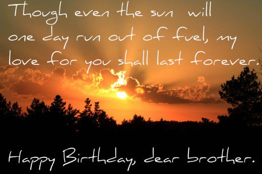 Best ideas about Birthday Quotes For Brother . Save or Pin 141 Birthday Wishes Texts and Quotes for Brothers Now.