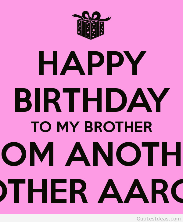 Best ideas about Birthday Quotes For Brother . Save or Pin Happy birthday brother Now.
