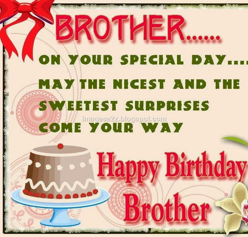 Best ideas about Birthday Quotes For Brother . Save or Pin Happy Birthday Quotes For Brother From Sister Now.